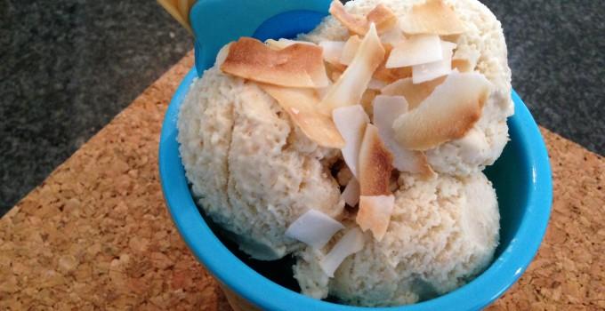 Low Carb Coconut & Cardamom Ice-Cream