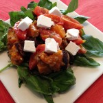 Pumpkin and Brinjal Salad Recipe