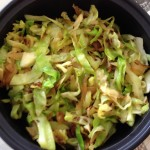 Stir Fried Cabbage and Cumin