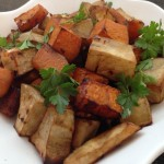 Chilli Roasted Sweet Potatoes & Butternut