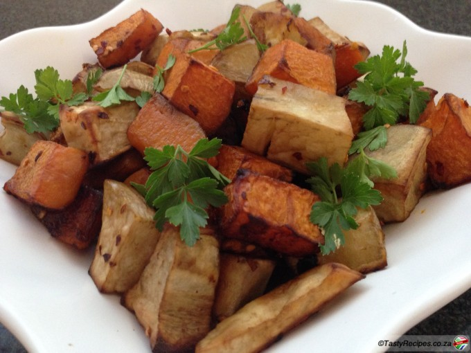 Sweet Potato and Butternut Recipe