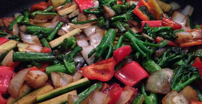 Japanese Style Stir Fried Veg
