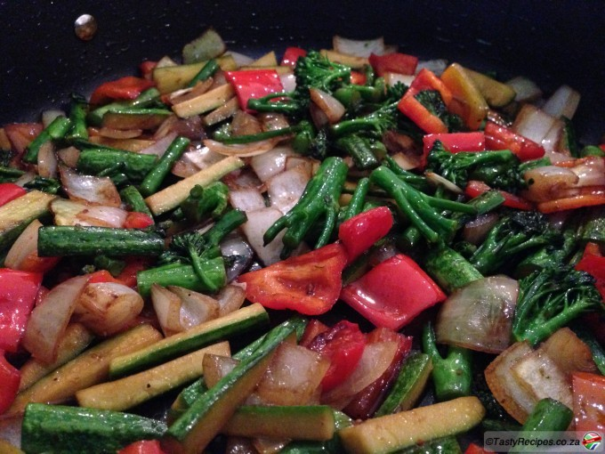 Japanese Style Stir Fried Veg Recipe
