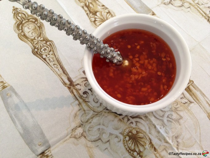 Low Carb Sweet Chilli Sauce Recipe