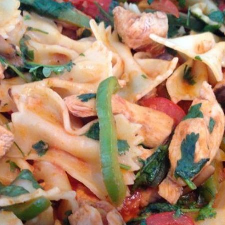 chicken-bow-tie-pasta