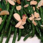 Garlickly Green Beans with Toasted Almonds