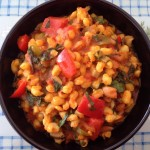 Curried Samp and Beans