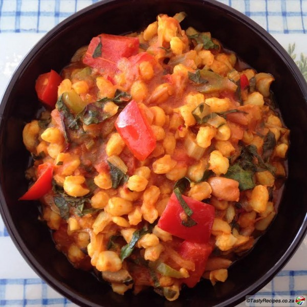 Curried Samp And Beans Sapeople South African Recipes