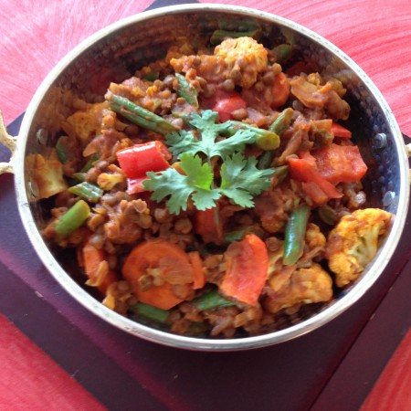 Lentil & Veg Curry Recipe