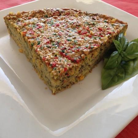 SAVOURY SPINACH CAKE 1