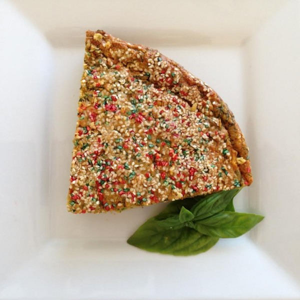 SAVOURY SPINACH CAKE