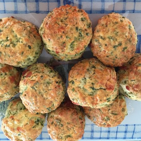 SPINACH & CHIVE SCONES