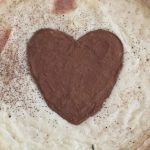 MILK TART with a HEART for Valentine's Day or Any Romantic Occasion