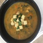 CHUNKY VEGETABLE AND BEAN SOUP