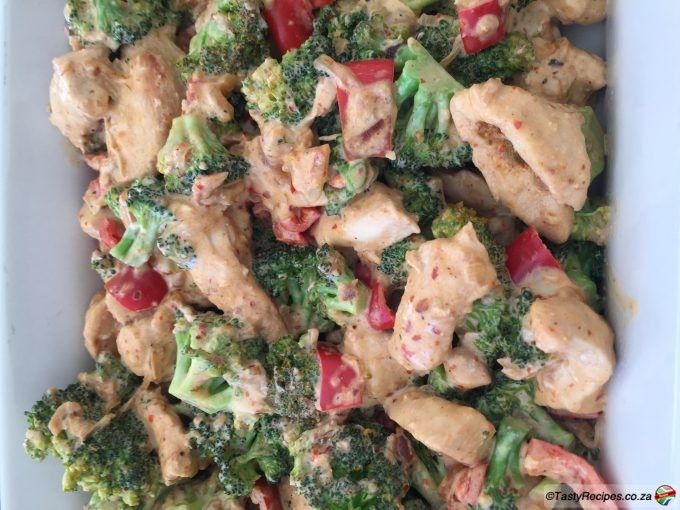 CHICKEN & BROCOLLI BAKE