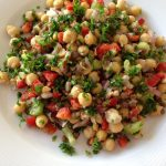 CHICKPEA AND LENTIL SALAD