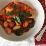 SPICY GNOCCHI WITH TOMATO AND BASIL
