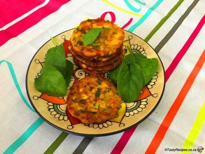 sweetcorn fritters recipe