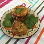 CHEESY SWEETCORN FRITTERS