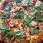 MAIZE AND POLENTA PIZZA