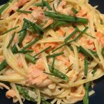 SMOKED SALMON LINGUINE