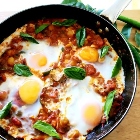 SHAKSHUKA WITH CHICKPEAS