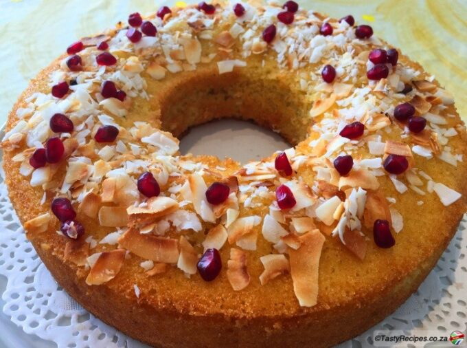coconut and cardamom cake recipe