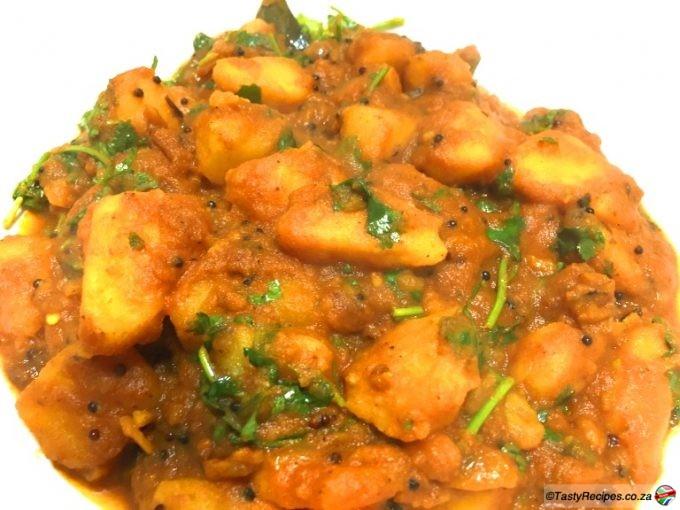 spicy potato curry recipe