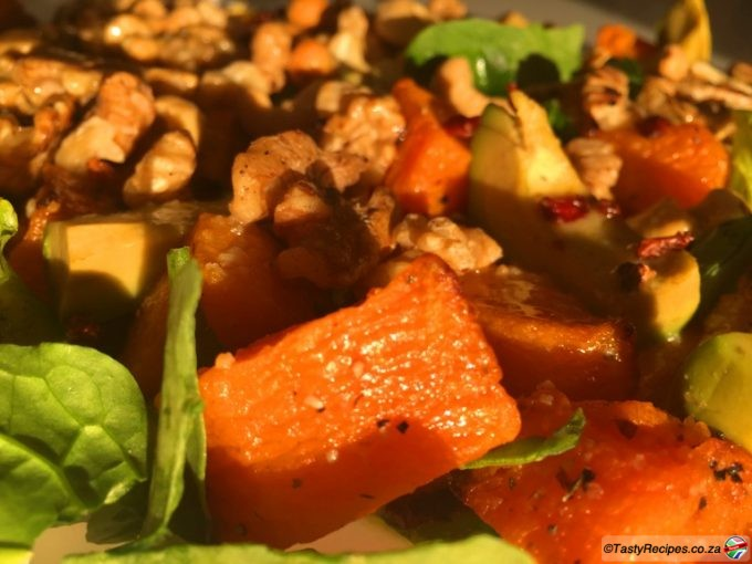 roasted butternut salad recipe