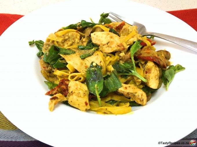 creamy basil pesto chicken recipe
