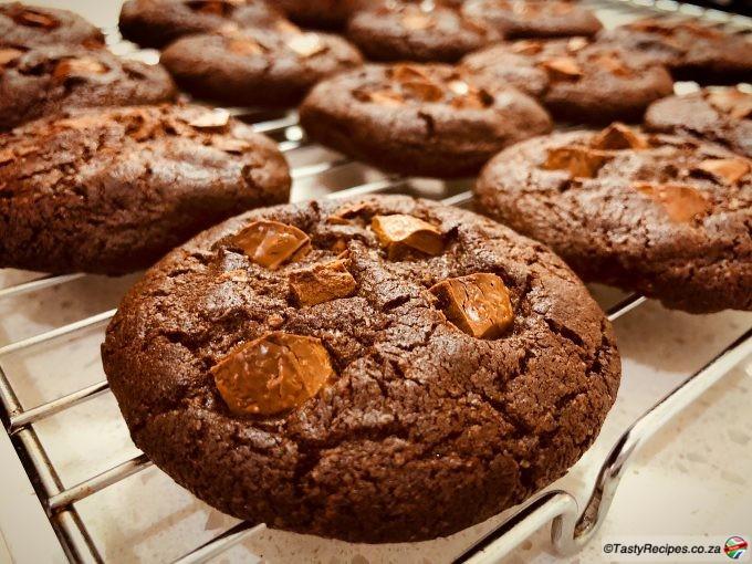 double chocolate nutella cookie recipe