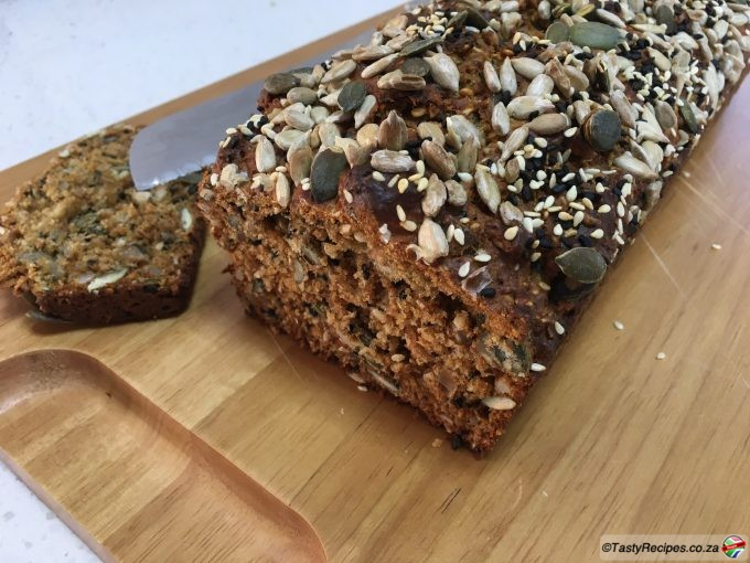no knead multiseed health loaf recipe