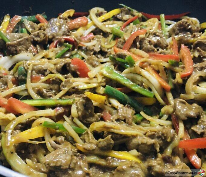 stir fry pepper steak recipe