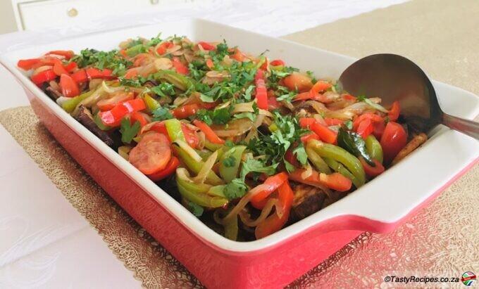 aubergine and potato bake recipe