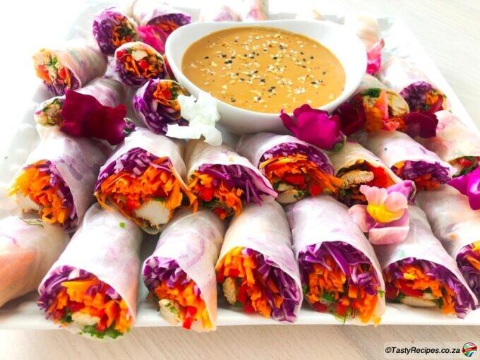 rice paper springroll recipe